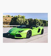 Lamborghini Aventador  Photographic Print