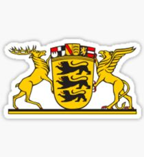 Baden Wurttemberg Coat Of Arms Sticker