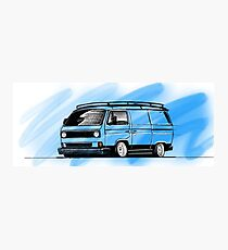 VW T25 Photographic Print