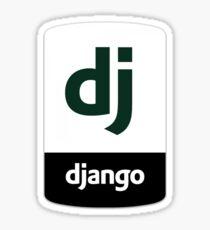 Django Python Sticker