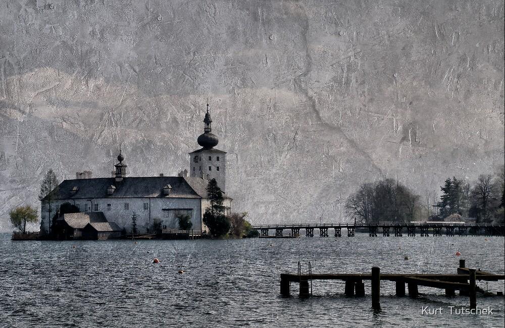 Little castle in the lake by Kurt  Tutschek
