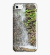 Waterfall of the Finsterbach at the Ossiacher lake iPhone Case/Skin