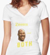 LaVar Ball Women's Fitted V-Neck T-Shirt