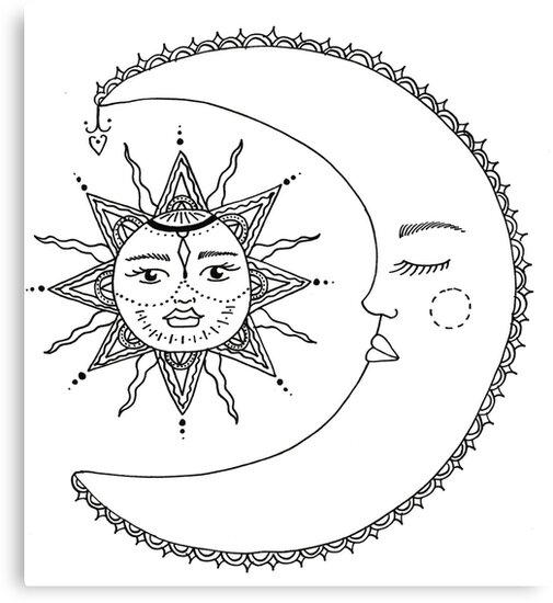 sun//moon by isicia