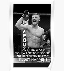 victory connor Poster