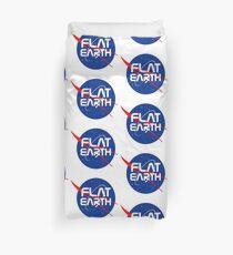 FLAT EARTH Duvet Cover