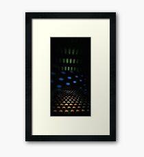 Holes Framed Print