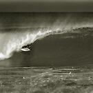 kneeboard surfing by steen