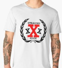 XXX Straight edge Radical Men's Premium T-Shirt