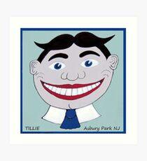 Tillie Asbury Park NJ Art Print