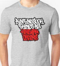 Camiseta unisex No hay tales cosas como intermedios Crooks