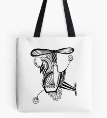 Helicóptero | Helicopter Tote Bag