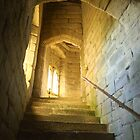 The Staircase, Warkworth Castle by wiggyofipswich