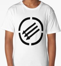 Antifascist arrows Long T-Shirt