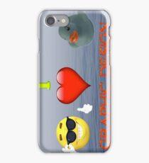 I Love Graphic Design iPhone Case/Skin