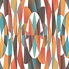 Colorful geometric abstract by Gaspar Avila