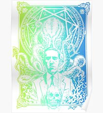 Lovecraft Cthulhu Eter Poster