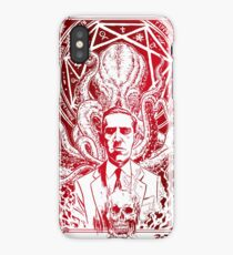 Lovecraft Cthulhu Red iPhone Case/Skin