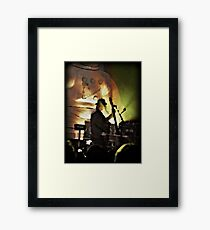 Les on Standup Framed Print