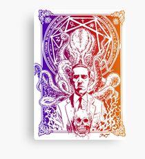 Lovecraft Cthulhu Canvas Print
