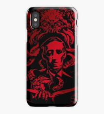 Lovecraft Cthulhu BloodRed iPhone Case/Skin