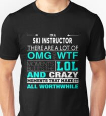 SKI INSTRUCTOR BEST DESIGN 2017 Unisex T-Shirt