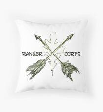 Ranger Corps Throw Pillow