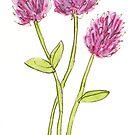 Wildblume von lesliemball