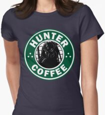hunter coffee old movie powered by overpriced drink horror T-Shirt