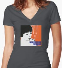 Nouvelle Vague Women's Fitted V-Neck T-Shirt