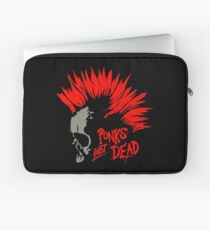 Punks not dead Skull Laptop Sleeve