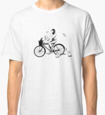 Julio Cortazar en bicicleta - JC by bike Classic T-Shirt