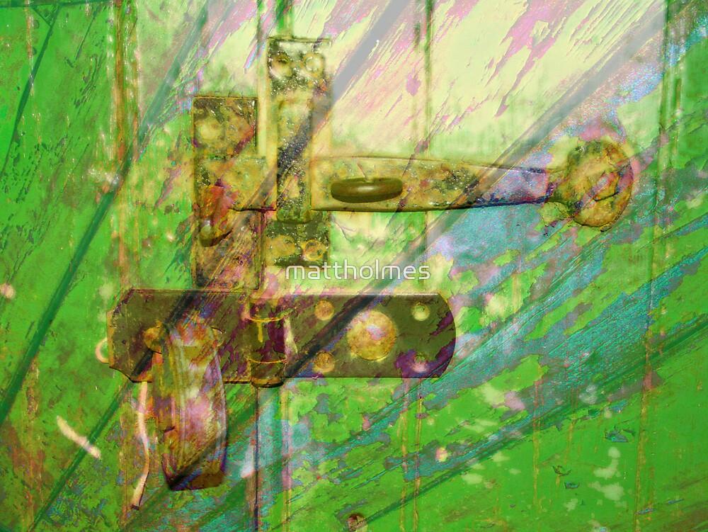 Green Doorway Merge No.2 by mattholmes