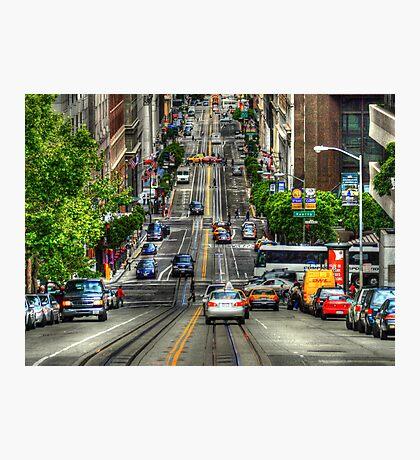 City Street Photographic Print