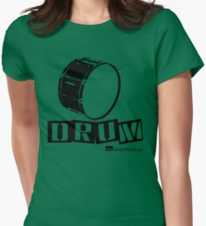 Label Me A Bass Drum (Black Lettering) T-Shirt