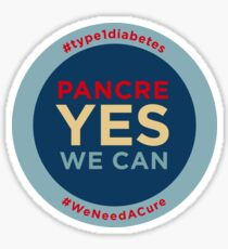 Pancre Yes We Can! Sticker