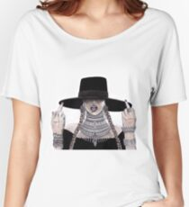 Beyonce watercolour, pen and pencil Women's Relaxed Fit T-Shirt