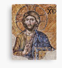 Jesus Christ Pantokrator  Canvas Print