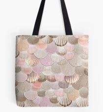MERMAID SHELLS ROSEGOLD von Monika Strigel Tasche
