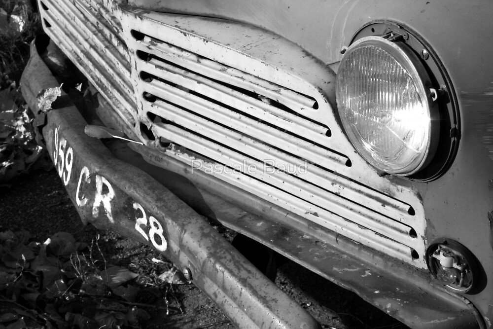 Old car by Pascale Baud