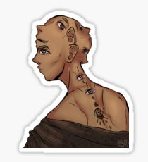 Beyond Two-Faced (Colour) Sticker