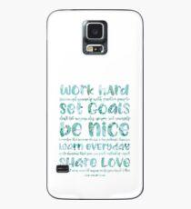 work hard share love Case/Skin for Samsung Galaxy