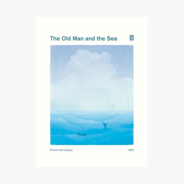 Ernest Hemingway - El viejo y el mar Lámina artística