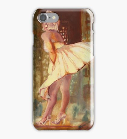 Marilyn Monroe - Chicago, study. iPhone Case/Skin