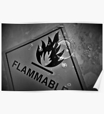 Flammable Bubbles Poster