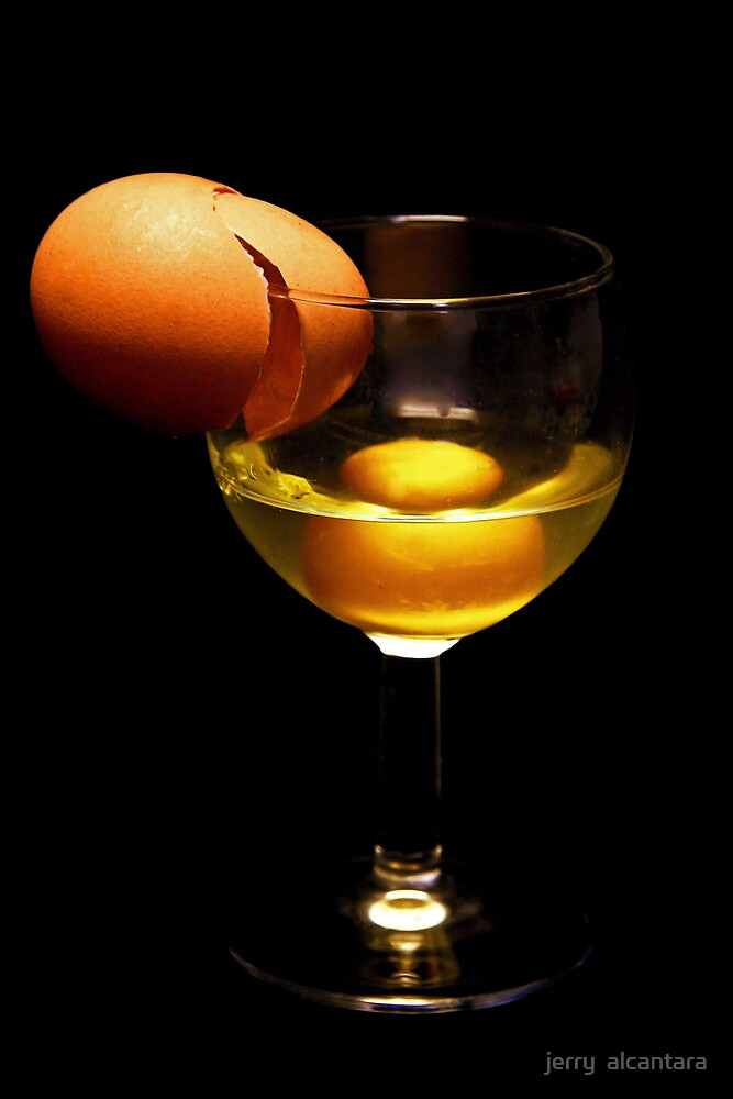 Egg cocktail by jerry  alcantara