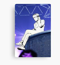 Minhyuk on Stage Canvas Print