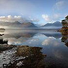 A Perfect Day at Derwentwater in the English Lake District by Martin Lawrence