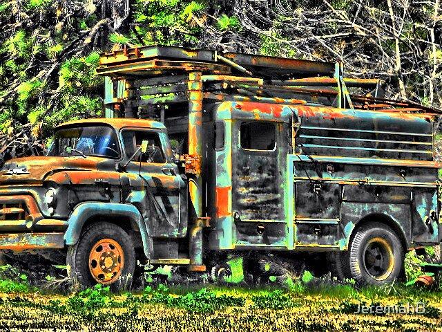 Grandpa Truck by JeremiahB