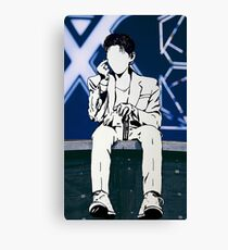 Kihyun on Stage Canvas Print